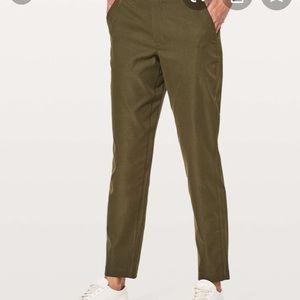 Lululemon & to go city Trek pants